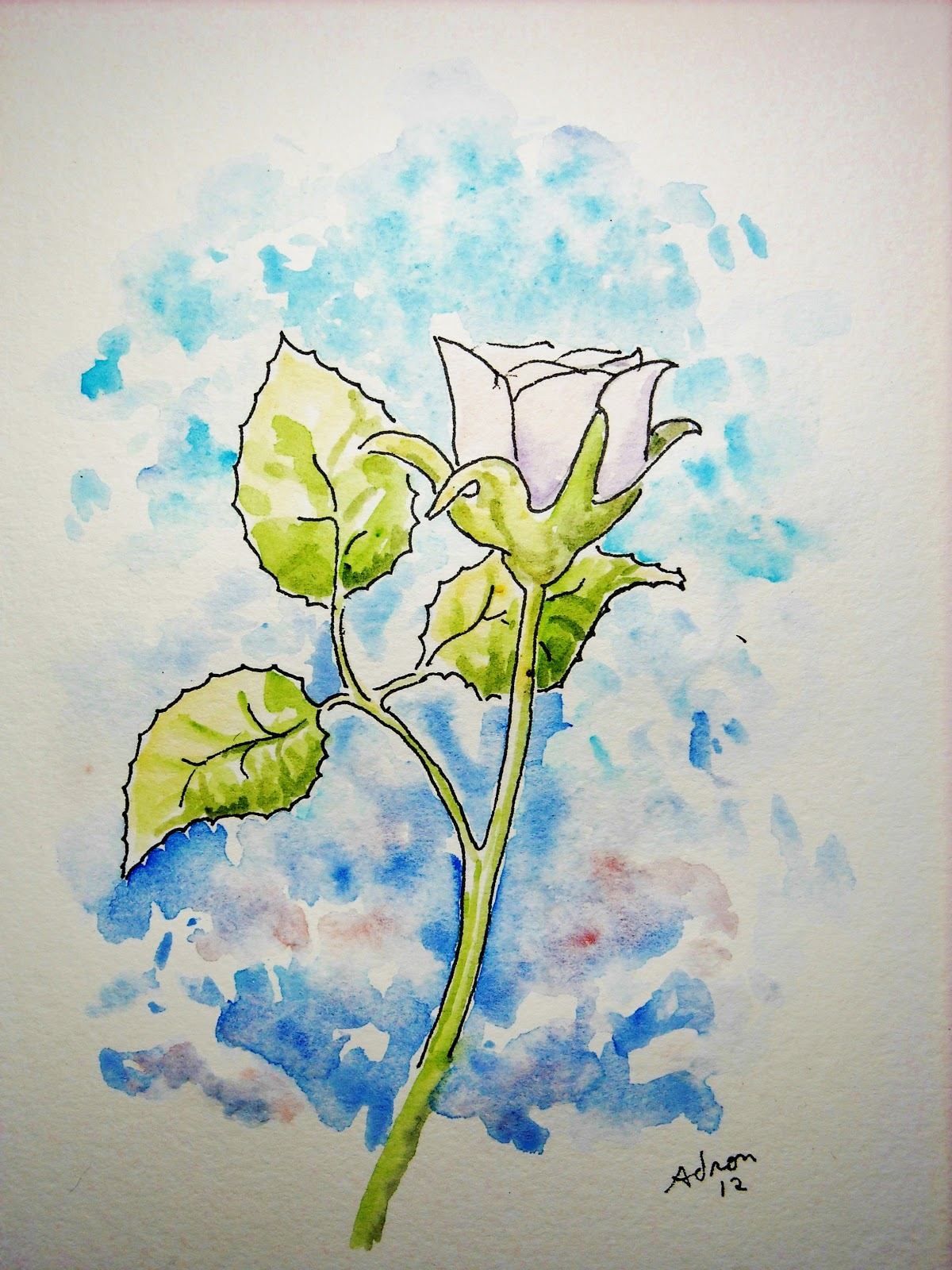 How To Draw Worksheets For The Young Artist How To Draw A Simple Rose Lesson And Worksheet