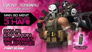 Event PB Garena Terbaru 7 Februari 2017 Spesial Valentine