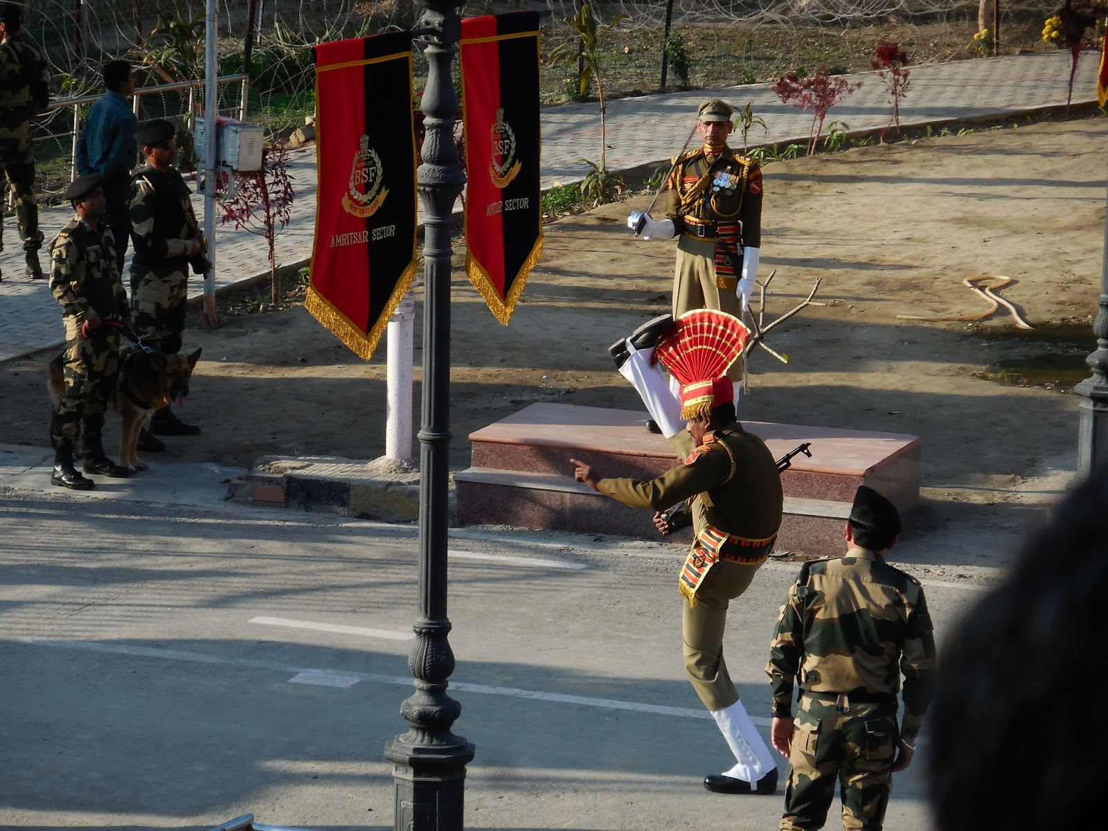 An Evening at Wagah Border Ceremony