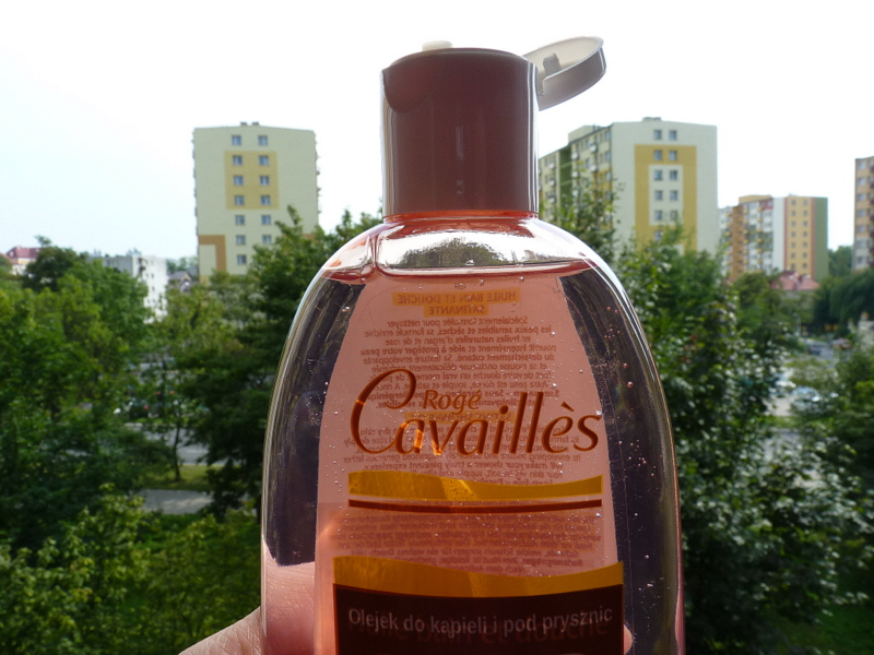olejek do mycia skóry wrażliwej