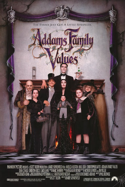 Poster of Addams Family Values 1993 720p Hindi WEB-DL Dual Audio Full Movie