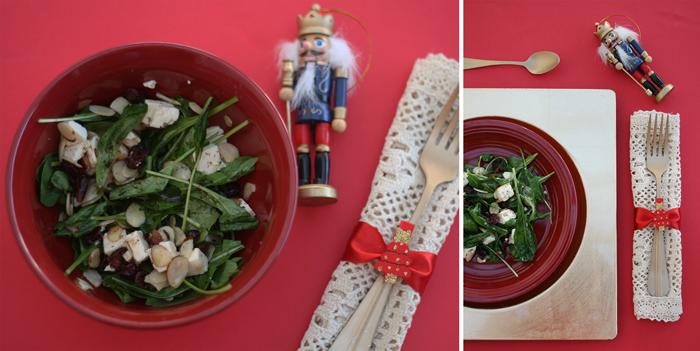 Valentina Vaguada: Salad, ensalada, cranberry, arandanos, christmas dinner, cena de navidad, cook, cocina,kitchen