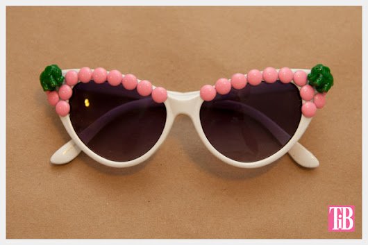 How to make Pink bit and Green Elephant Sunglasses
