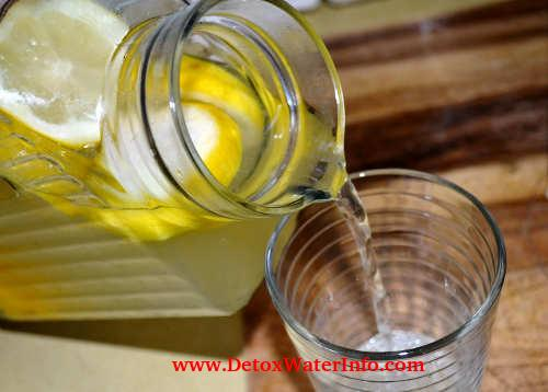 ginger mango water