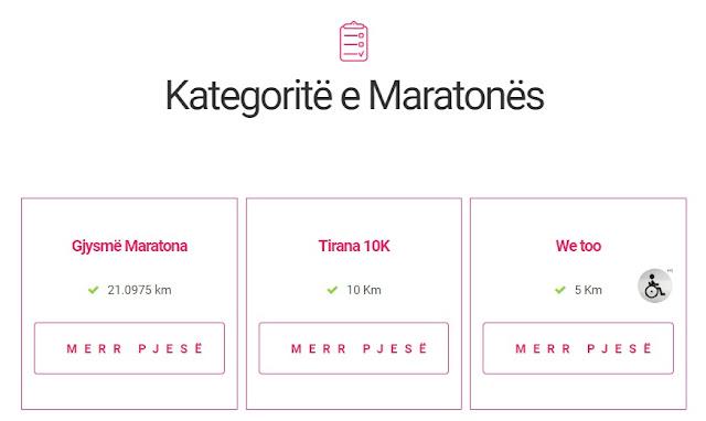 Tirana maraton site