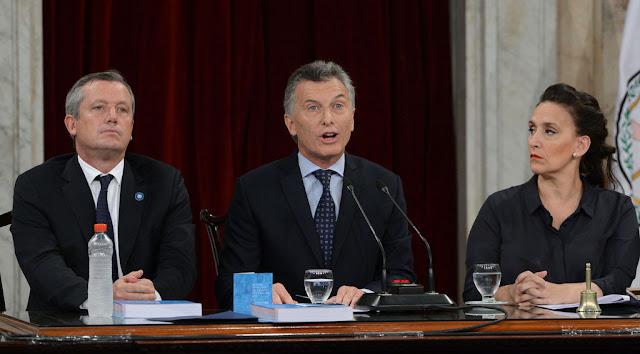 Macri inauguró las sesiones ordinarias del Congreso