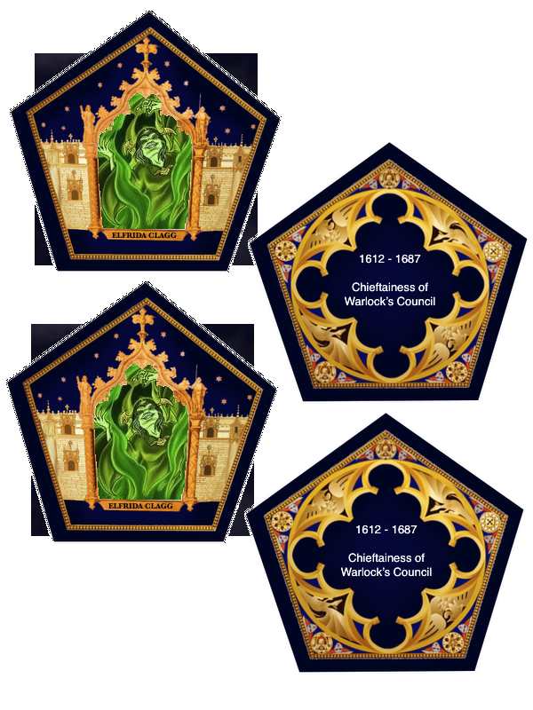 photo regarding Harry Potter Chocolate Frog Cards Printable called The Vacant Suitcase: Chocolate Frog Playing cards