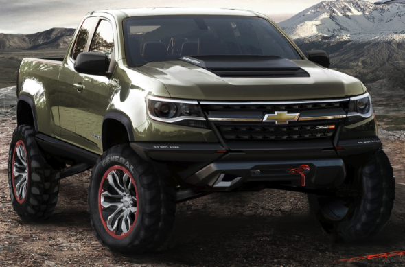 2017 Chevrolet Colorado ZR2 Review Design Release Date Price And Specs