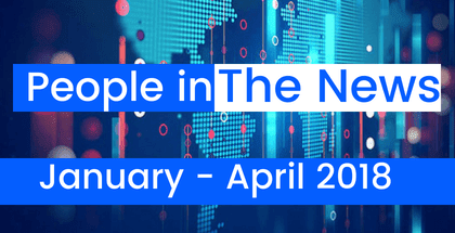 People in The News January - April 2018