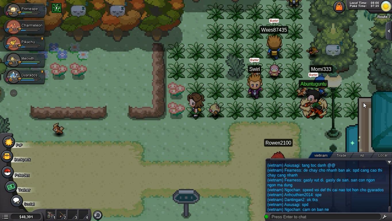 Hướng Dẫn Pokemon Revolution Online Part 3 - S S Anne | Huytndh