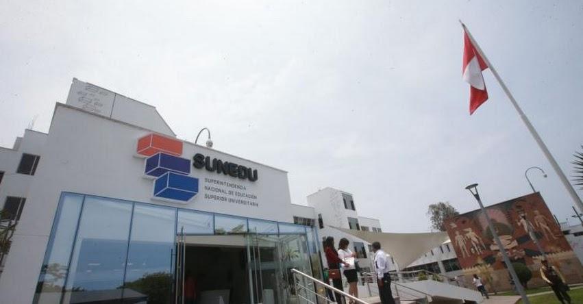 SUNEDU sancionará a exfuncionarios que trabajen en universidades