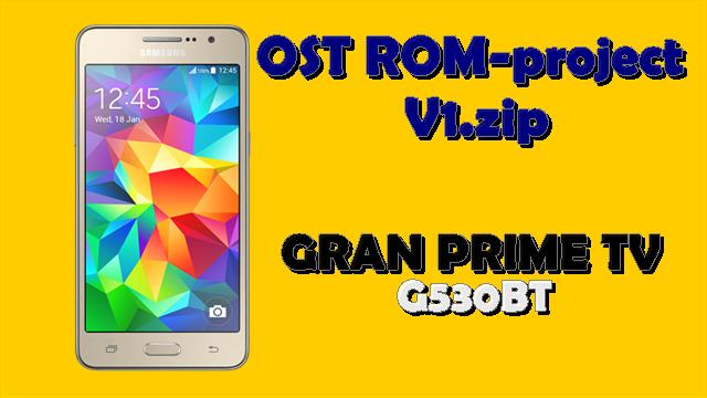 Custom ROM Galaxy Gran Prime TV Duos G530BT