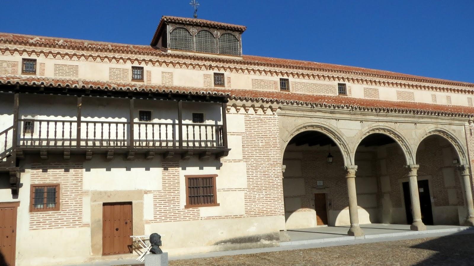 La Ruta de Isabel. Madrigal de las Altas Torres. Palacio de Juan II. Lugar dónde nació Isabel