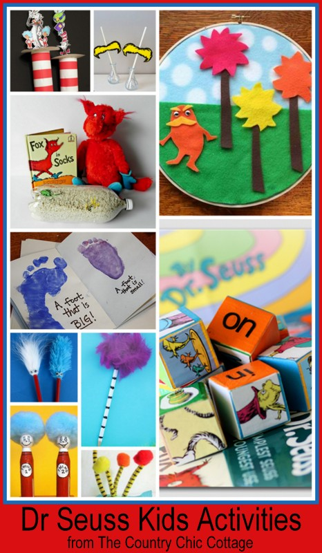 Dr. Seuss Crafts and Activities