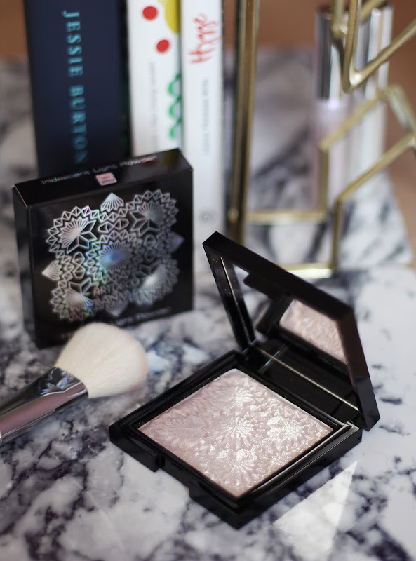 artdeco holo glam review light powder highlighter
