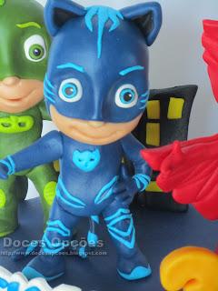 bonecos PJ Masks modelados bragança