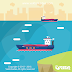Ferry Boats Flat Design Free Download