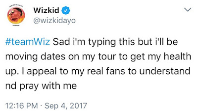img 6580 - ENTERTAINMENT: 'If I Die Today; I Die A Legend' – Wizkid Reveals As He Battles Unknown Ailment