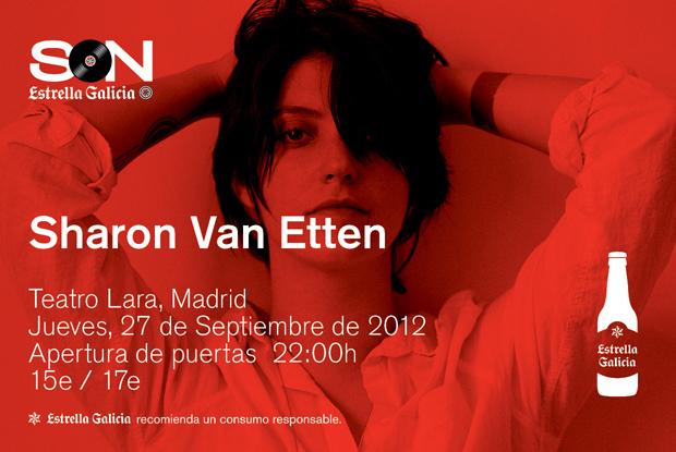 Hoy en el Teatro Lara, Sharon Van Etten