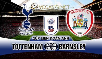 Nhận định, soi kèo nhà cái Tottenham vs Barnsley