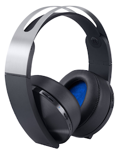 Sony Platinum Wireless with PS4 Specific features