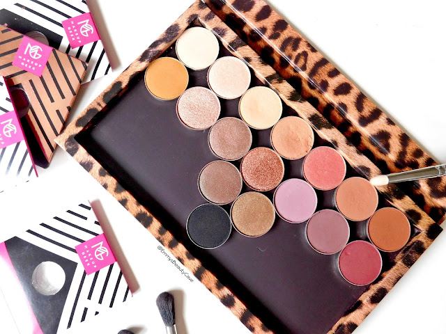 Makeup Geek Eye Shadows Matte, Shimmers, Duo Chrome and Foiled Review and Swatches