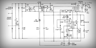 Circuit Wiring Solution: High current output switching power