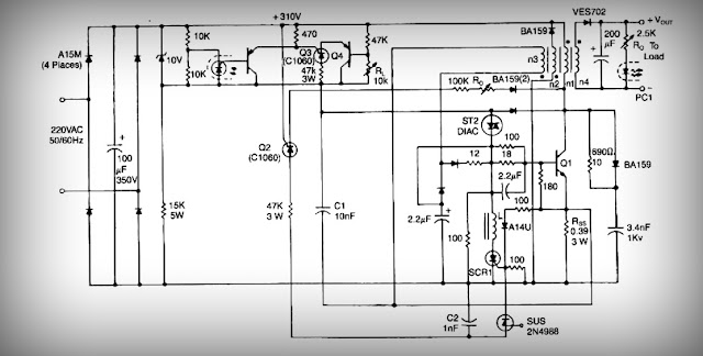 High Current Output Switching Mode Power Supply