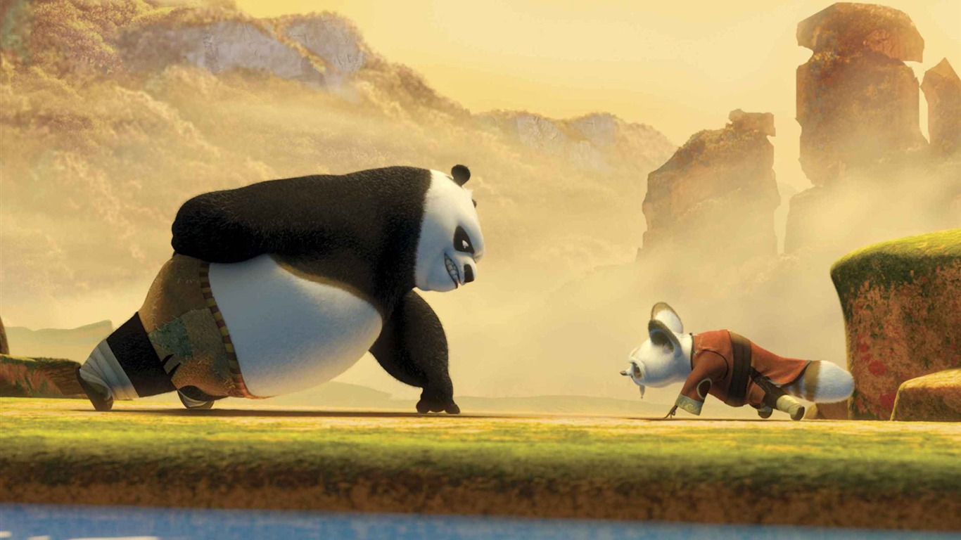 I Love You Heart Wallpaper 3d Animation Facebook Lovers Kungfu Panda