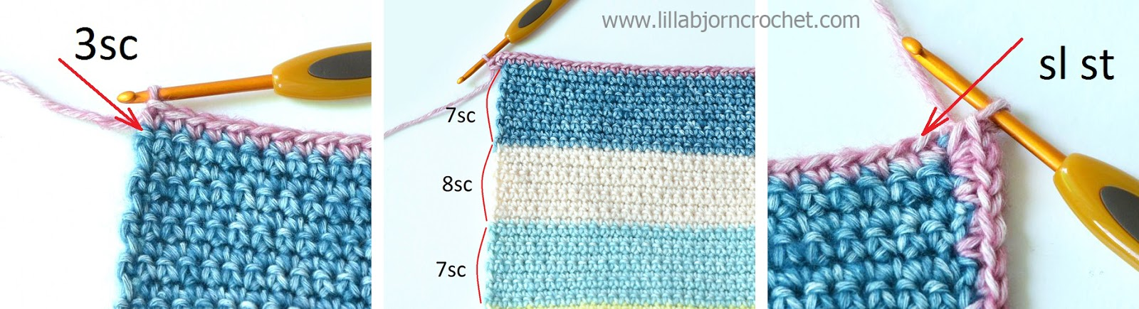 Tapestry Circles Pillow: free crochet pattern | LillaBjörn\'s Crochet ...