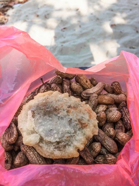 gandasturi kacang rebus