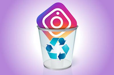 Hapus akun Instagram