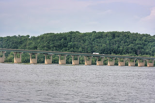 Rt. 30 bridge and the Susquehanna,  Wrightsville, PA
