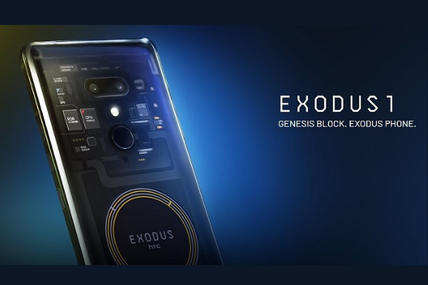 HTC releases World's first Blockchain-powered smartphone 'EXODUS 1'