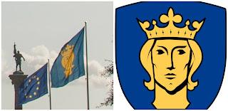 Bandera de Estocolmo. Erik el Santo