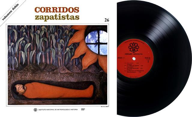 INAH 26 - CORRIDOS ZAPATISTAS (2 LPs)