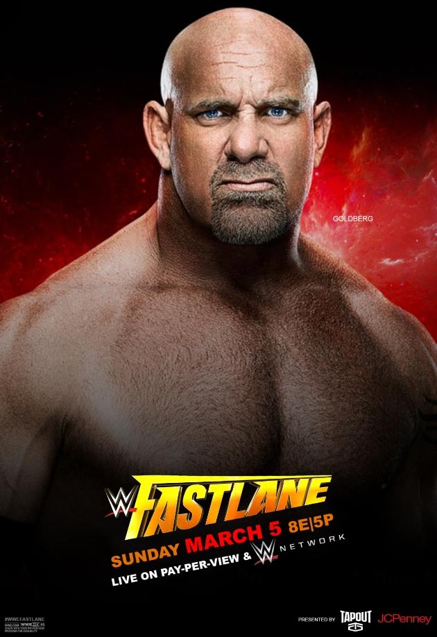 Goldberg tient l'affiche avant Brock Lesnar et Wrestlemania
