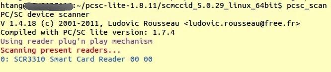 Setup SCR3310 V2 0 Smart Card Reader in Ubuntu 14 04 64Bit