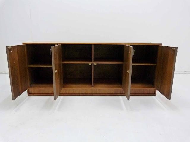 Modernist Mid Century Walnut Sideboard Frank Kyle 4