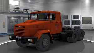 Kraz 260 Truck Reworked