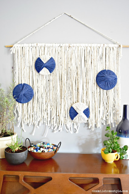 How to create your own DIY boho wall hanging