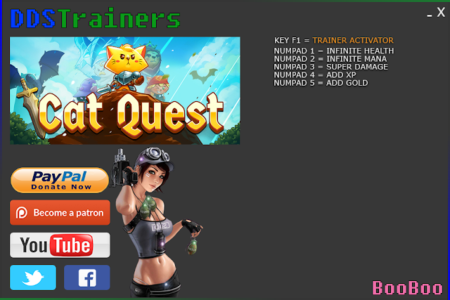 Cat Quest Trainers and Cheats for PC