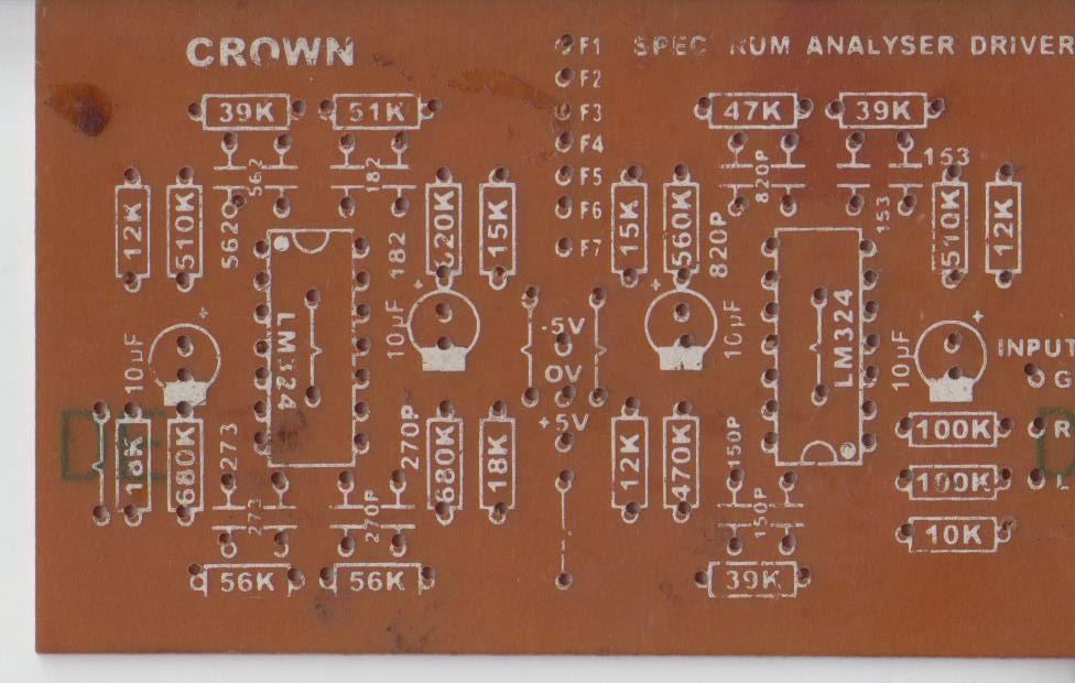 audio spectrum analyzer circuit diagram club car golf cart turn signal wiring sumith bandara multiple feedback bandpass filter in practical way