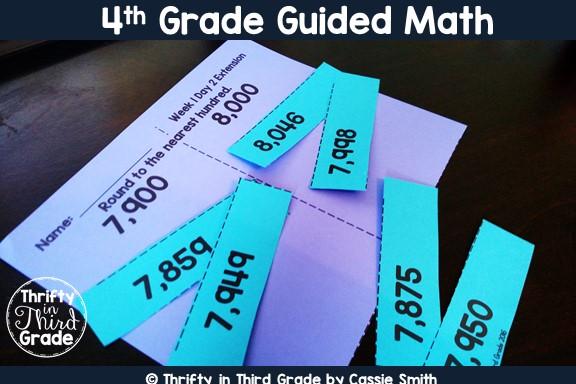 https://www.thriftyinthirdgrade.com/2016/08/4th-grade-guided-math.html