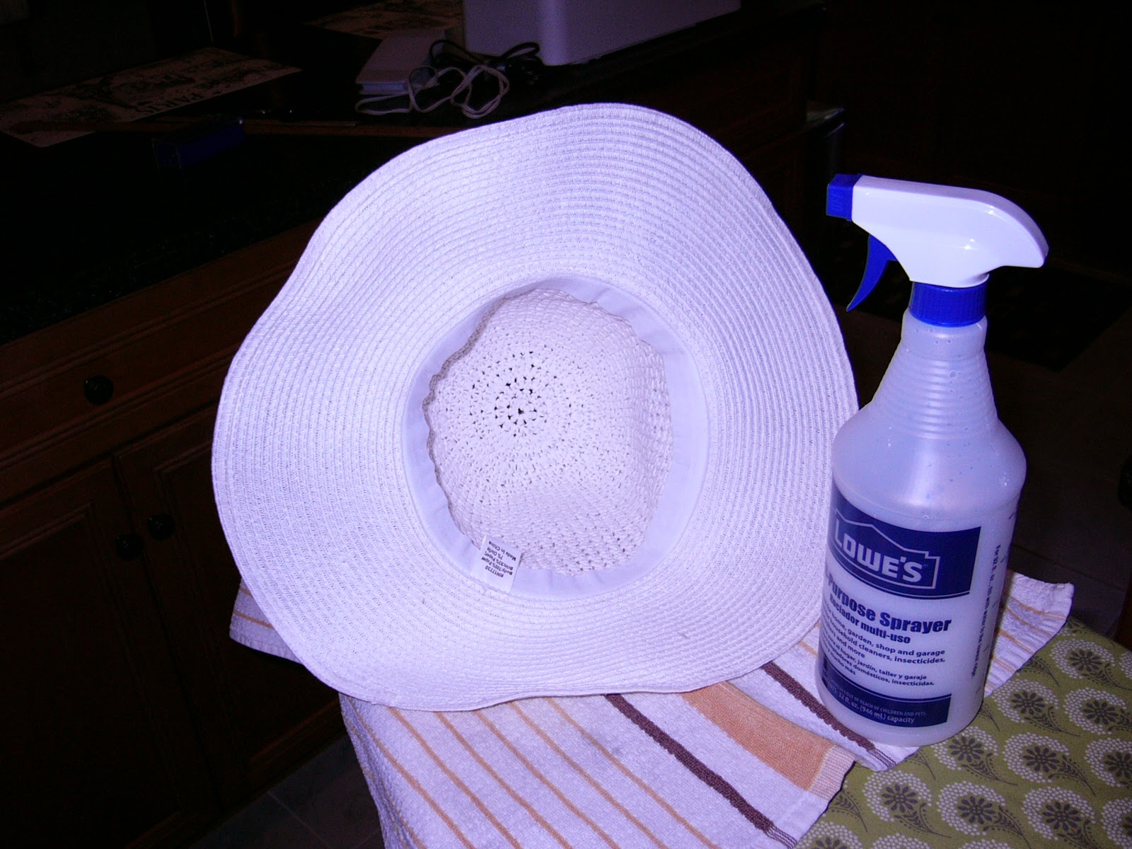 Happy in Hainesport: Hats Off to Homemade Spray Starch