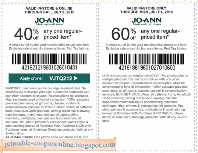 Joann fabrics coupons printable january 2018 : Car subwoofer and amp ...