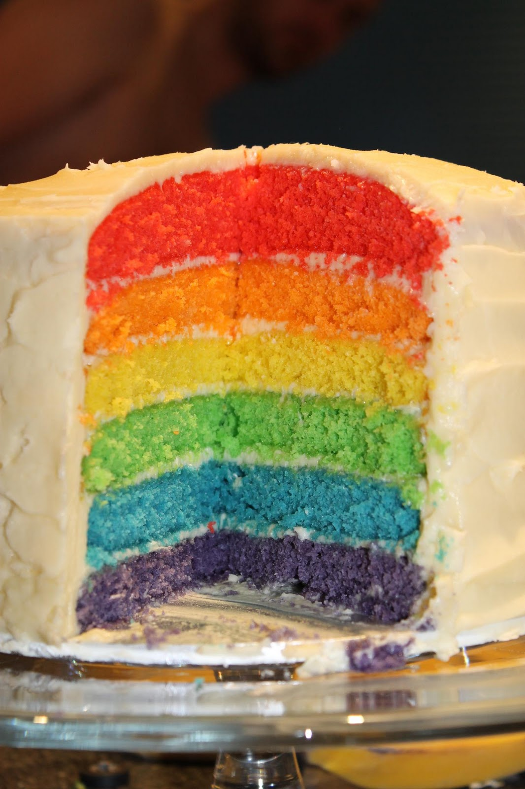 Sweetie Darling A Lovely Rainbow Cake And White Chocolate