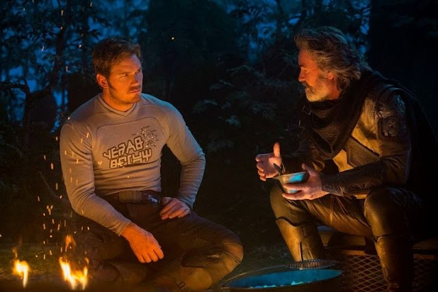 Kurt Russell es Ego en Guardians of the Galaxy 2