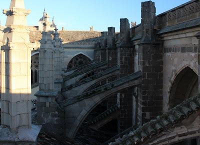 Arbotantes de la Catedral de Toledo