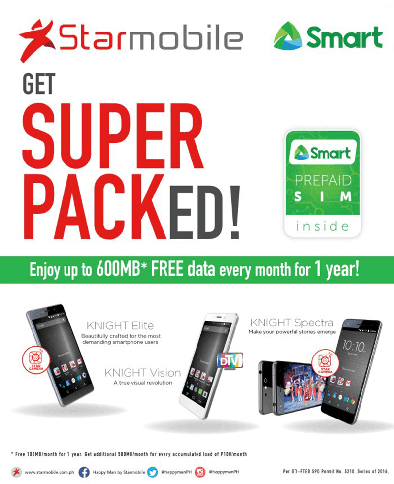 Starmobile SUPER PACK 600 bundle announced